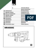 makita hr4000c parts manual