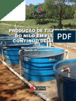 Producao de Tilapias Nilo Fluxo Continuo Agua