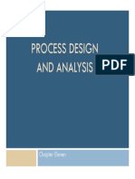 Chp 11 Process Design and Analysis