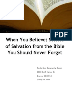 When You Believe - Stories of Salvation From the Bible You Should Never Forget