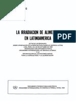 Irradiacion de Alimentos IAEA 1983 PEGAMMA