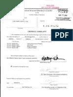 Force/Bridges Criminal Complaint