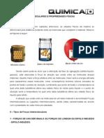 Forcas Intermoleculares Exercicios