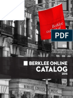 Berklee Online Degree and Course Catalog 2015