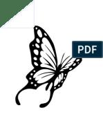 Stencil Butterfly 2