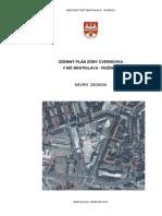 Návrh zadania územného plánu zóny Cvernovka