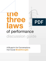The Three Laws of Performance Discussion Guide
