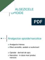 Analgezicele Opioide