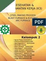 Kesehatan & Keselamatan Kerja (k3) Steel Making Process