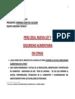 Análisis de la seguridad alimentaria en el Perú