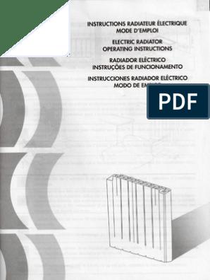 Delonghi Navi 1000 User Manual Prise électrique