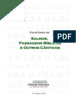 Coletânea de Salmos, Passagens Bíblicas e Outros Cânticos (2013)