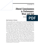 Phillip Zarrilli - Essay on Altered Consciousness