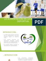 La Alimentación en La Actividad Deportiva - Andrea Conde 6to A