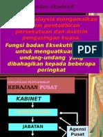 Badan Eksekutif Parlimen(Pegajian Am) STPM