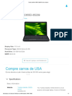 Toshiba Satellite C655D-S5209 Review and Specs