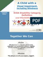 ecea vi includingblindness