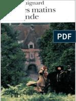 Pascal Quignard - Tous Les Matins Du Monde PDF