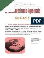 Brochure_Cours de Français_2014-2015 Docx