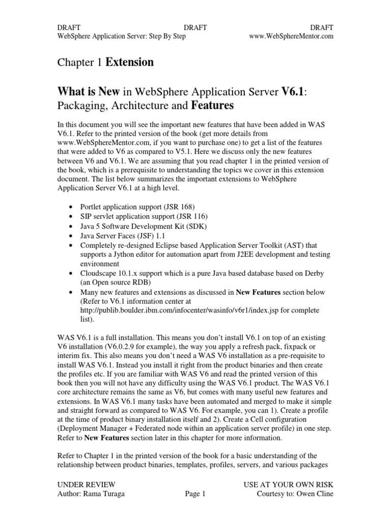 WebSphere Application Server Step by Step | Proxy Server