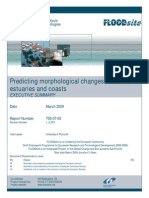 Predicting Morphological Changes in Rivers, Estuaries and Coasts -Executive Summary