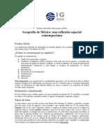 Normas Editoriales Del Libro Geografía de México