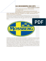 Espingarda Cal 12 Mossberg 930