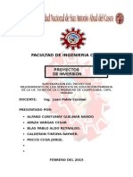 MEJORAMIENTO DE LOS SERVICIOS DE EDUCACION PRIMARIA DE LA I.R. 50384 DE LA COMUNIDAD DE CAJAPUCARA, CAPI, PARURO.doc