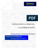 Introduccion a La Telematica de Telefonica