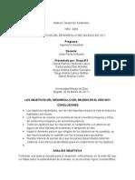 Objetivos Del Desarrollo Del Milenio en 2011