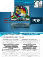 Mecanismos de Polimerizacion Tema 22