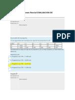 Evaluacion de Proyectos_examen Parcial 100 Puntos
