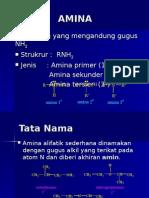 amina ( kimia organik )
