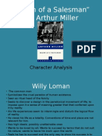 death of a salesman character analysis