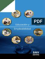 Bo Snv Educacion y Empleabilidad 14 Agosto 09