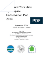 NYS DEC 2014 Draft Open space plan
