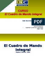 Curso Gestion Estrategica Sub Hacienda Cuadro Mando Integral