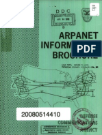 Arpanet Information Brochure