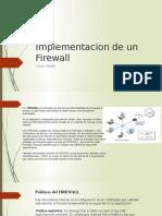 Implementacion de Un Firewall