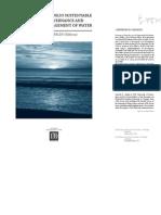 Gobernanza y Manejo Sustentable Del Agua55555555555555