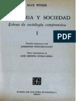 Economia y Sociedad Weber