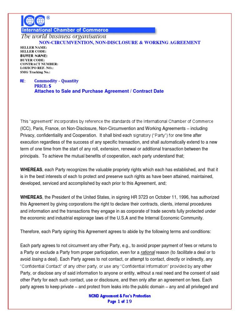 Blank ncnda imfpapdf arbitration financial transaction platinumwayz