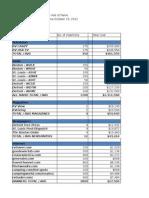 Media Plan Excel Sheet