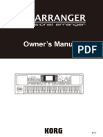 Korg MicroArranger Owners Manual
