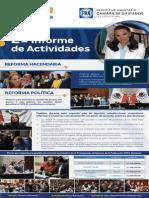 Segundo Informe de Actividades Legislativas y de Gestión de la Dip. Leonor Romero Sevilla.