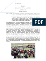 Título IV - Cap Viii - Art 149 - Const. Perú