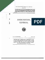 TM9-1900 Ammunition General, June 1945