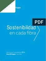 Informe de Sostenibilidad SKC 2014