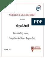 georgia educator ethics certificate