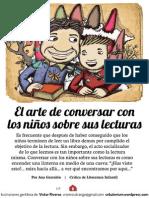 Conversar Lecturas Con Niños, Lectura Profesor